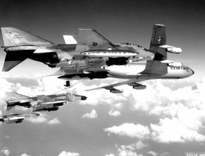 F-4 fighter jet bomber phantom airplane plane military (7) wallpaper