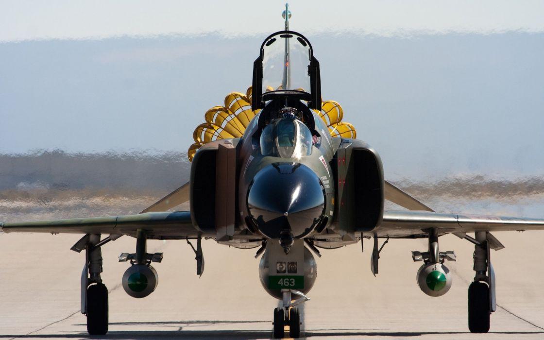 F-4 fighter jet bomber phantom airplane plane military (11) wallpaper