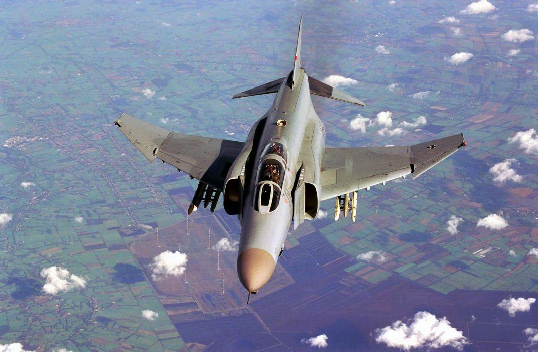 F-4 fighter jet bomber phantom airplane plane military (17) wallpaper