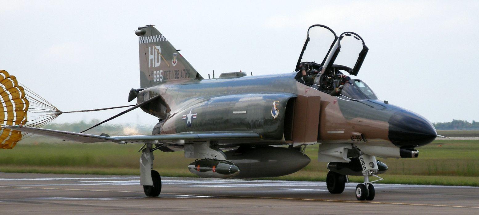 F-4 fighter jet bomber phantom airplane plane military (19) wallpaper