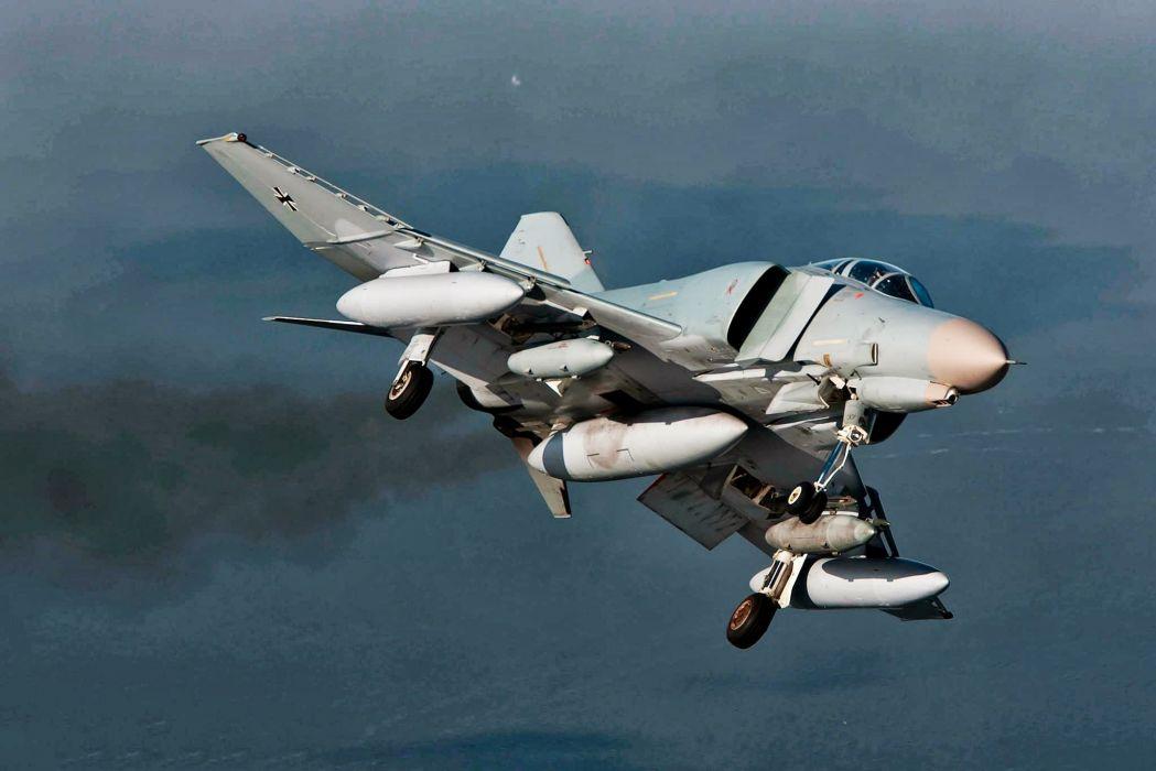 F-4 fighter jet bomber phantom airplane plane military (27) wallpaper