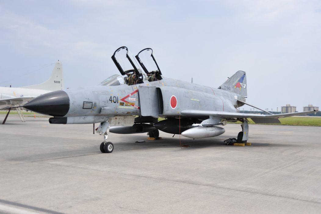 F-4 fighter jet bomber phantom airplane plane military (45)_JPG wallpaper