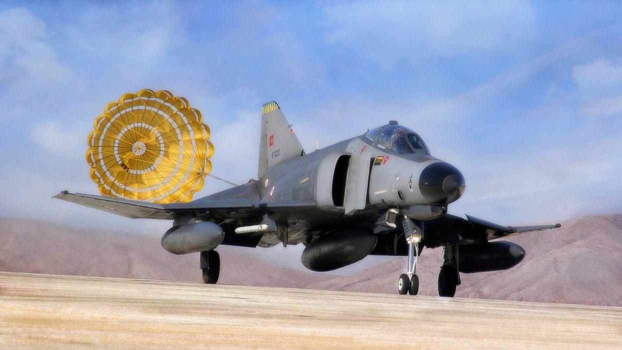 F-4 fighter jet bomber phantom airplane plane military (54) wallpaper