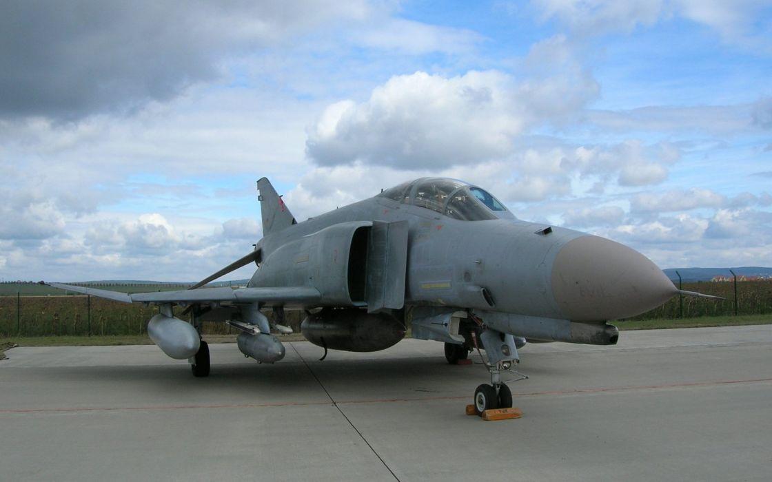 F-4 fighter jet bomber phantom airplane plane military (69) wallpaper