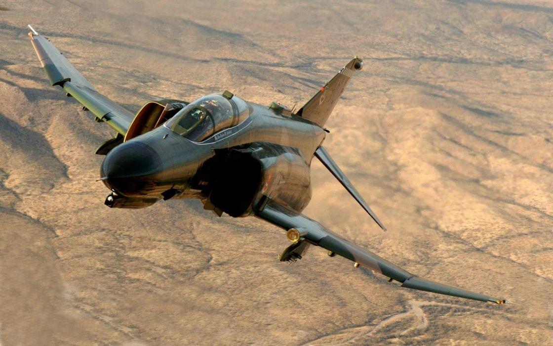 F-4 fighter jet bomber phantom airplane plane military (73) wallpaper