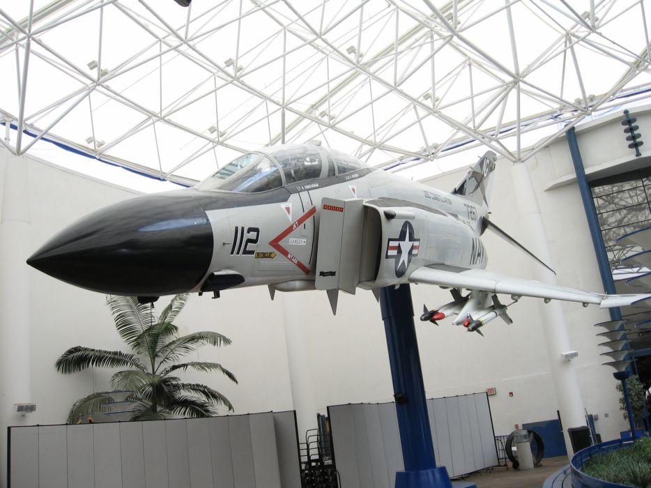 F-4 fighter jet bomber phantom airplane plane military (82) wallpaper