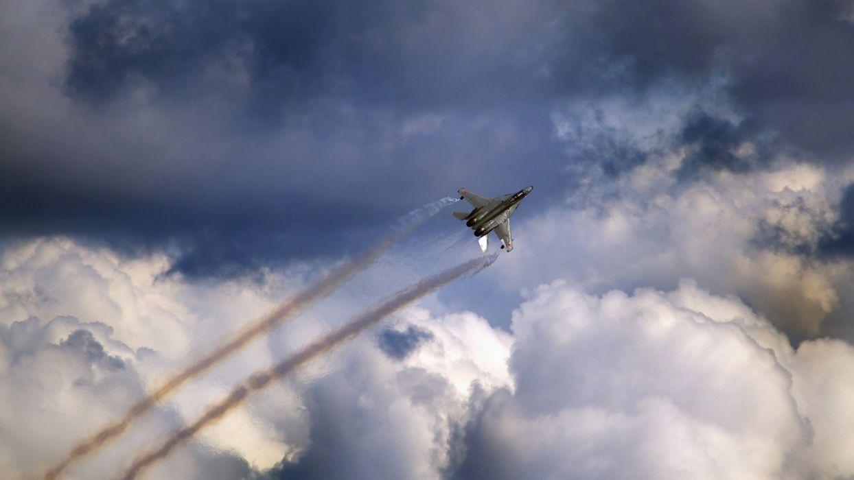 F-4 fighter jet bomber phantom airplane plane military (89) wallpaper