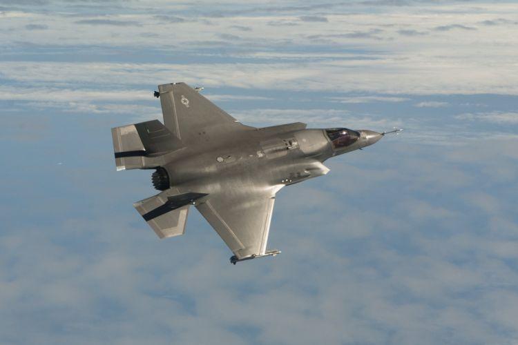 F-35 military fighter jet airplane plane lightning bomber joint (4) wallpaper