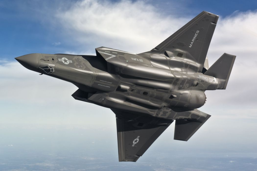 F-35 military fighter jet airplane plane lightning bomber joint (24) wallpaper