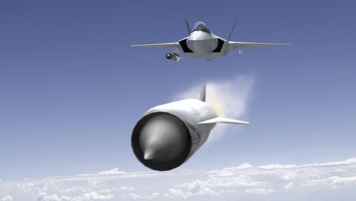 F-35 military fighter jet airplane plane lightning bomber joint (28) wallpaper