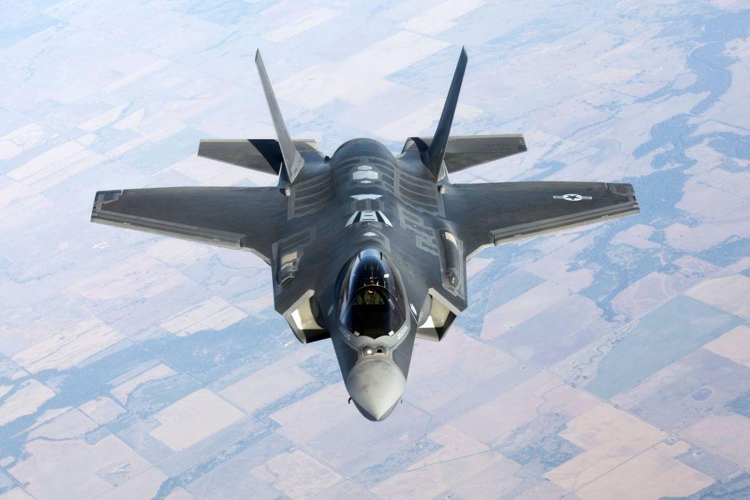 F-35 military fighter jet airplane plane lightning bomber joint (34) wallpaper