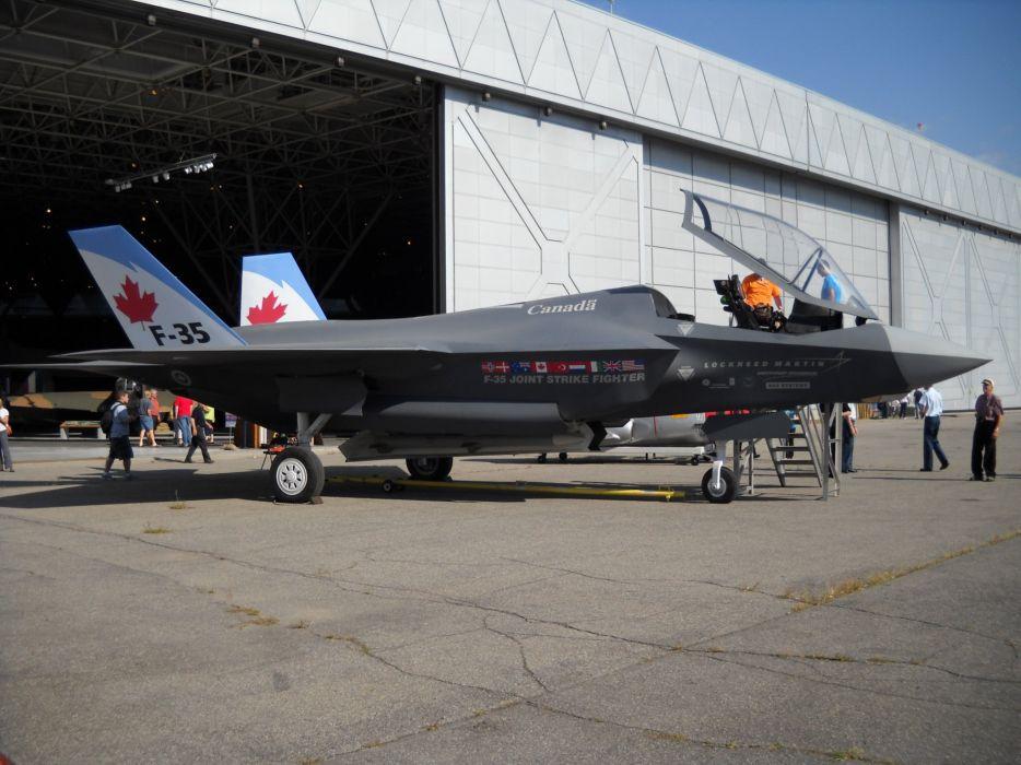 F-35 military fighter jet airplane plane lightning bomber joint (50) wallpaper
