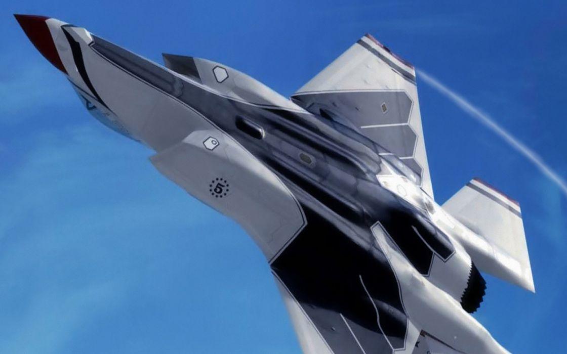 F-35 military fighter jet airplane plane lightning bomber joint (61) wallpaper