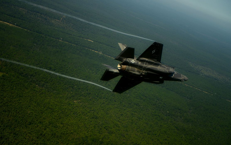 F-35 military fighter jet airplane plane lightning bomber joint (72) wallpaper