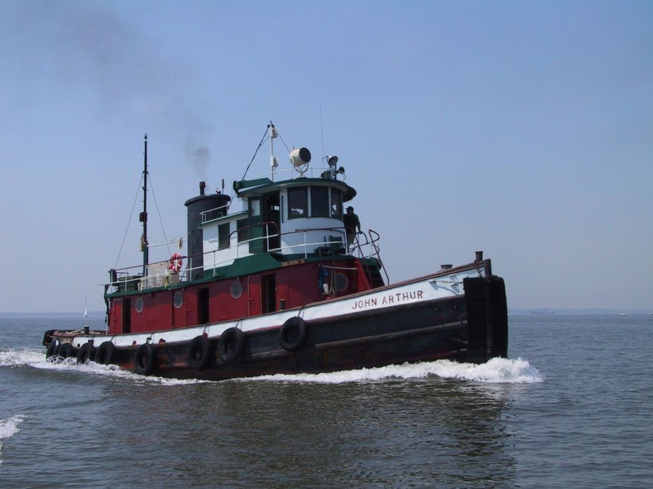 TUGBOAT ship boat tug marine (30) wallpaper