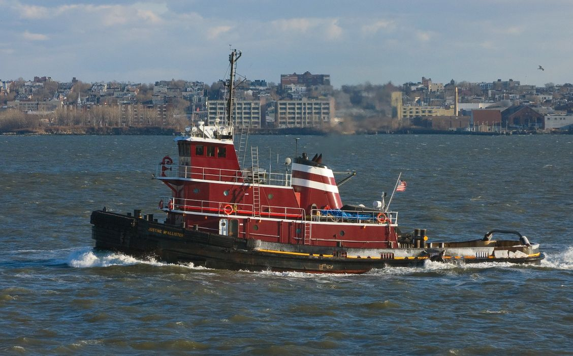 TUGBOAT ship boat tug marine (32) wallpaper
