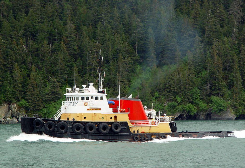 TUGBOAT ship boat tug marine (36) wallpaper