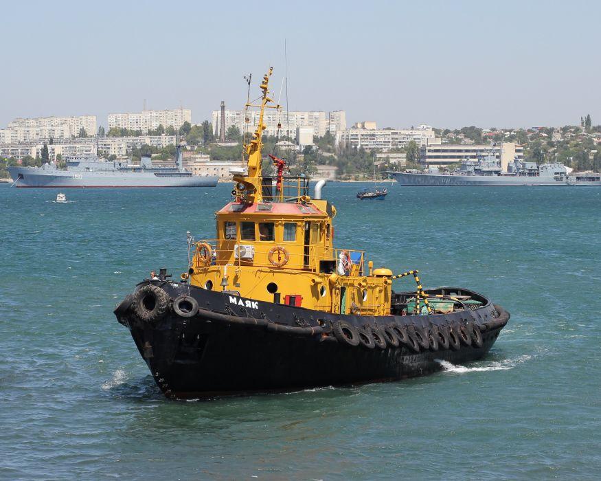 TUGBOAT ship boat tug marine (37) wallpaper