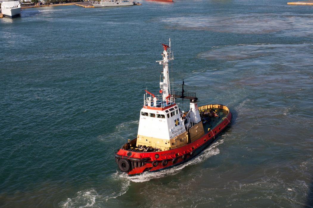 TUGBOAT ship boat tug marine (53) wallpaper