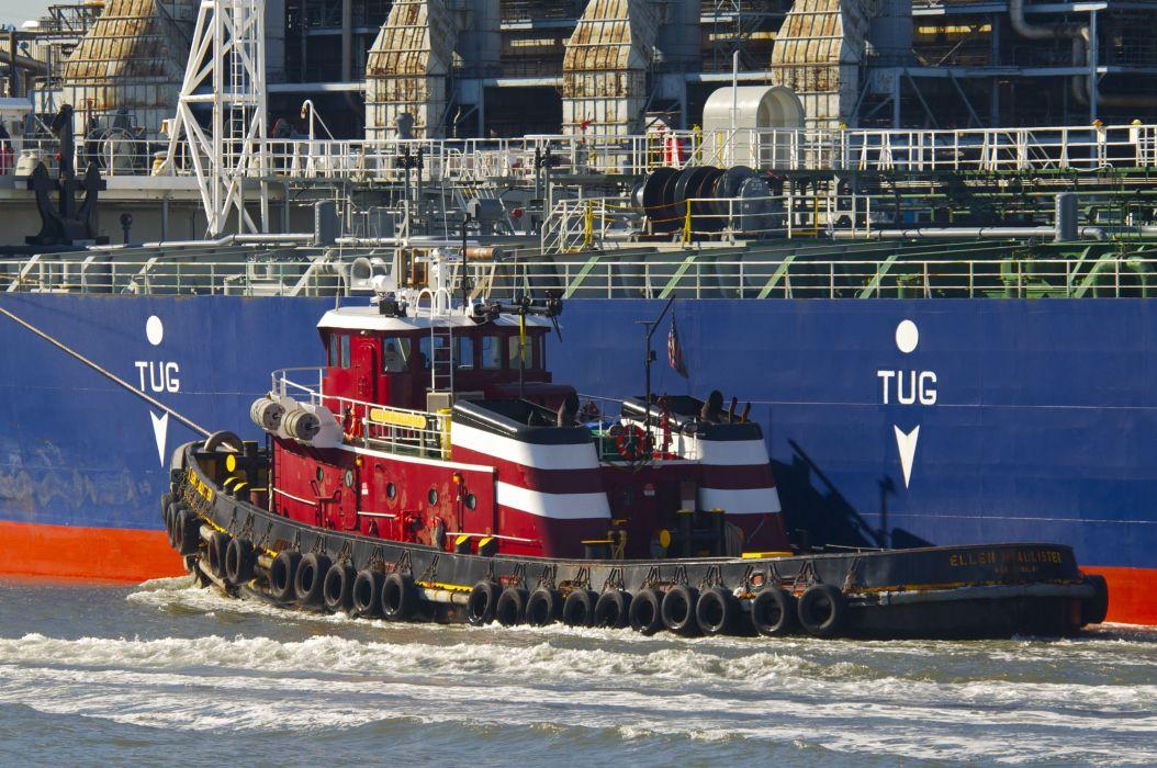 TUGBOAT ship boat tug marine (95) wallpaper