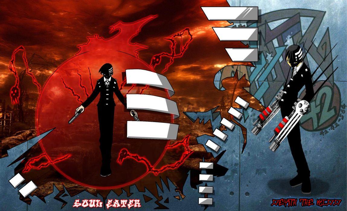 Soul Eater Death The Kid Wallpaper 1800x1097 251495 Wallpaperup
