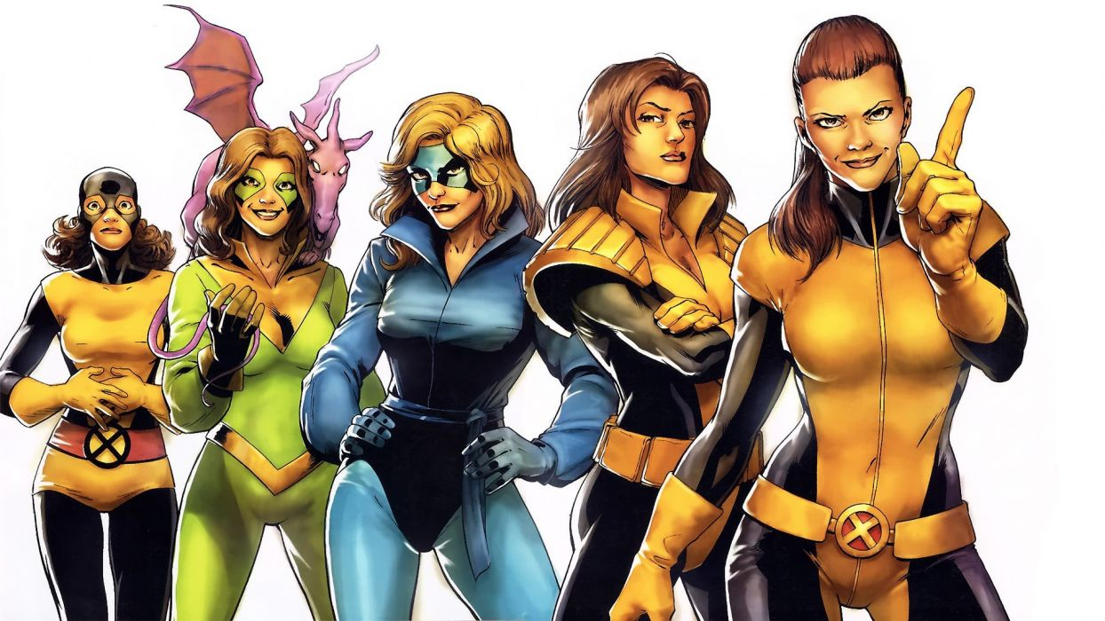 comics X-Men evolution Kitty Pryde wallpaper