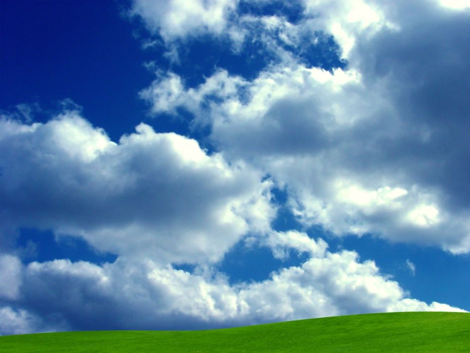 clouds fields skyscapes wallpaper