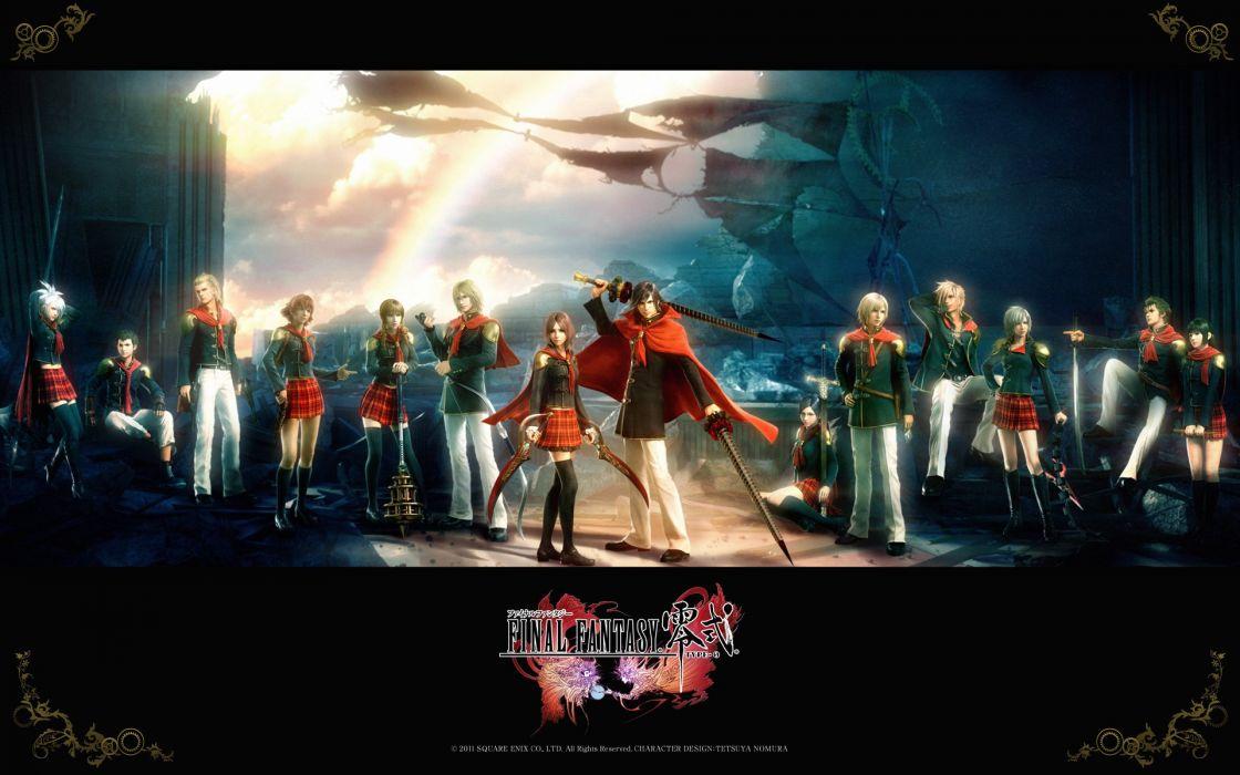 Final Fantasy Type-0 wallpaper
