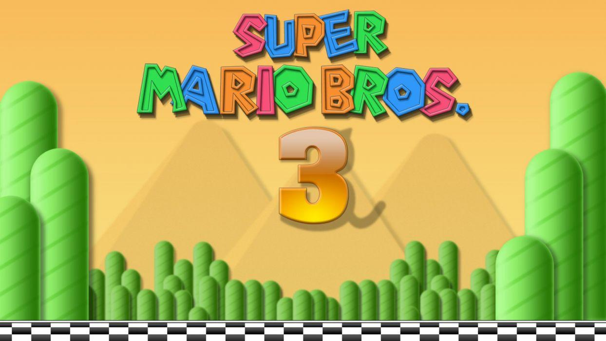 Nintendo video games Mario Super Mario Super Mario Bros_ retro games wallpaper