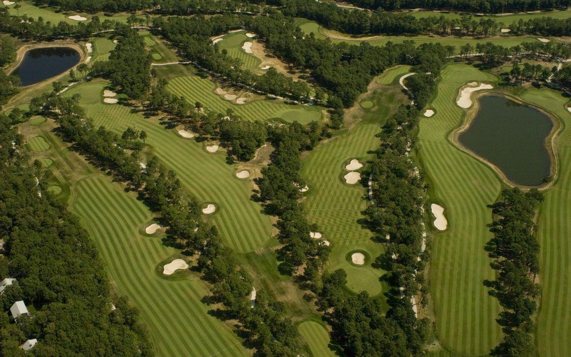 landscapes golf course wallpaper