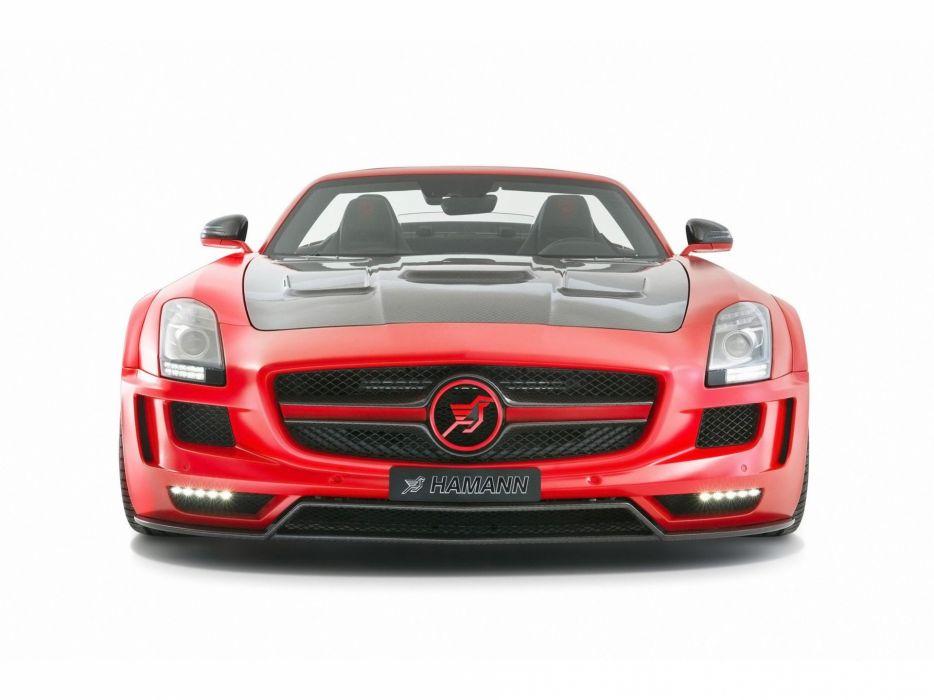 studio front hawk Hamann roadster Mercedes-Benz Hamann Hawk Roadster wallpaper