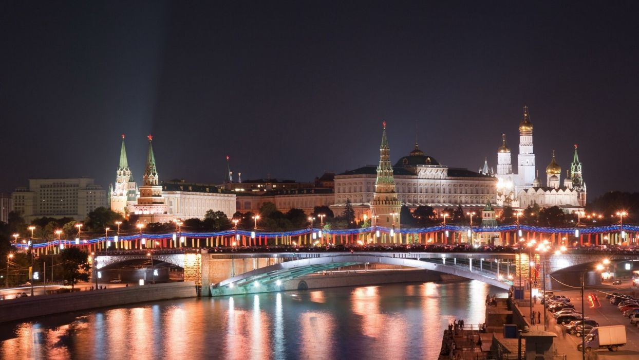 landscapes cityscapes Moscow Kremlin Red Square wallpaper