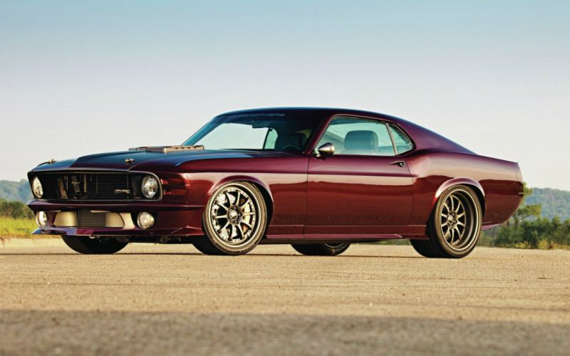 cars muscle cars vehicles Ford Mustang red cars American cars wallpaper
