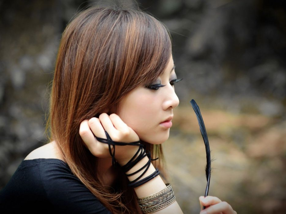 women Asians Taiwan bubzbeauty portraits wallpaper