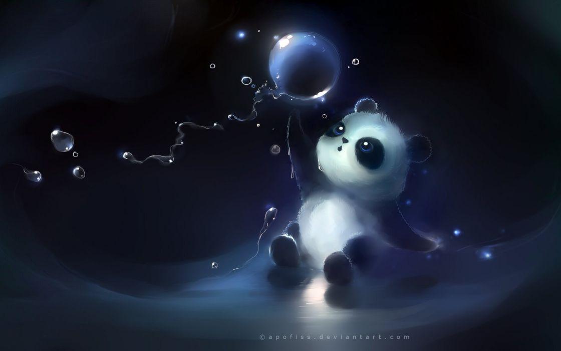kittens teddy bears Apofiss wallpaper