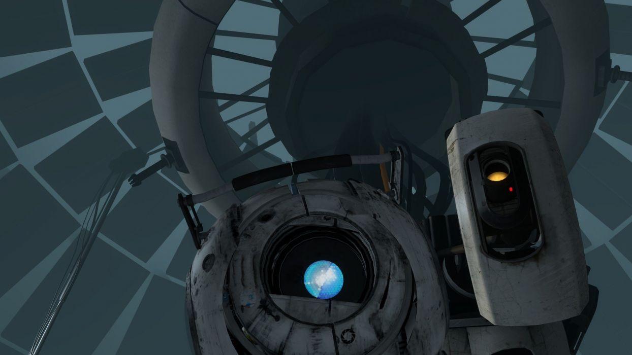 video games Portal Companion Cube GLaDOS Aperture Laboratories Portal 2 Wheatley wallpaper