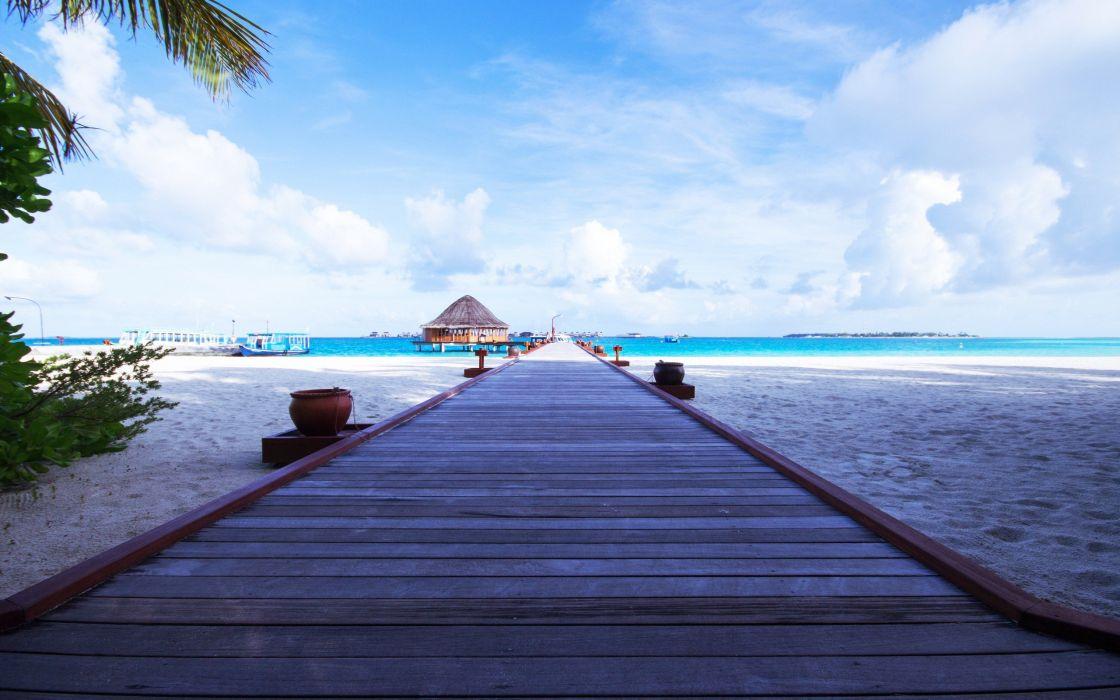 tropical beaches wallpaper