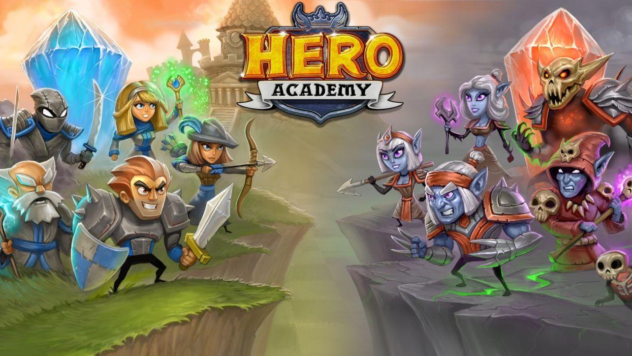 video games hero academy hero academy wallpaper