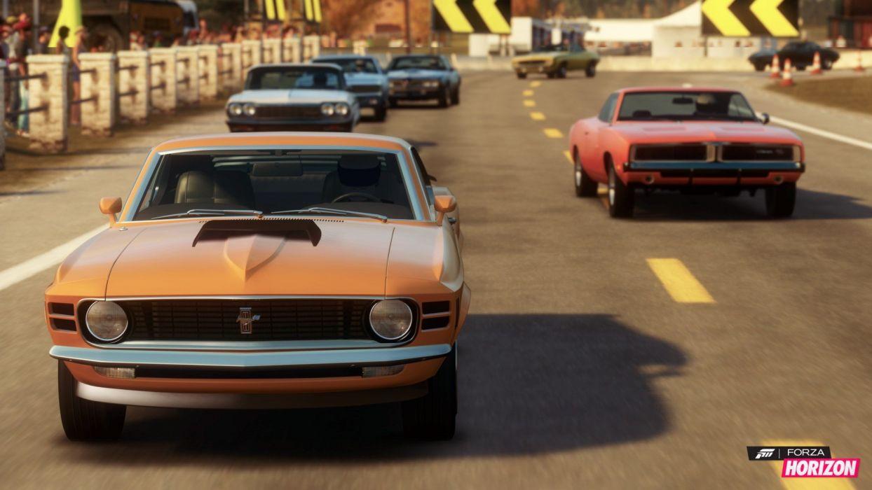 video games cars Ford Mustang Xbox 360 Forza Horizon wallpaper