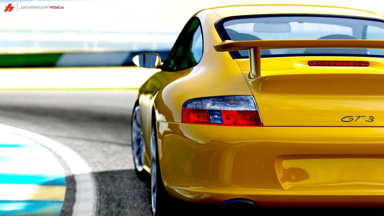 video games Porsche cars Xbox Xbox 360 races Porsche 911 GT3 Forza Motorsport 4 Forza 4 wallpaper