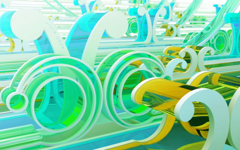 abstract CGI chromatic K3 Studio wallpaper