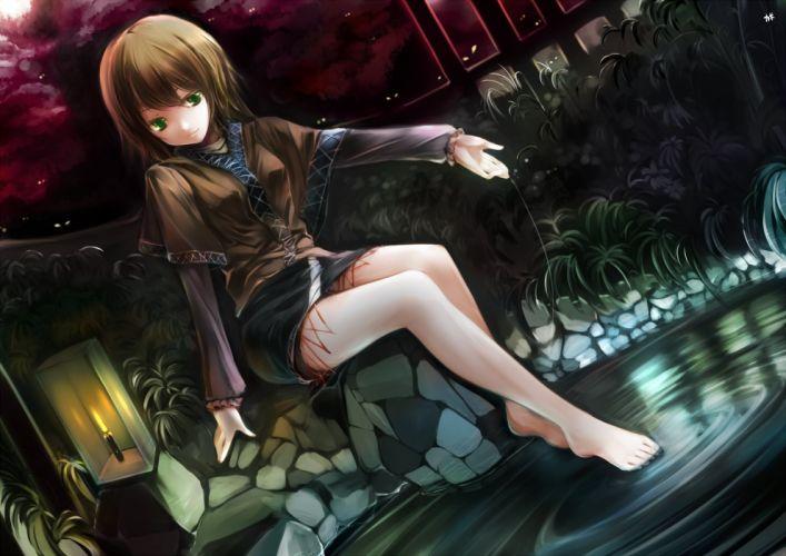 women video games Touhou Mizuhashi Parsee wallpaper