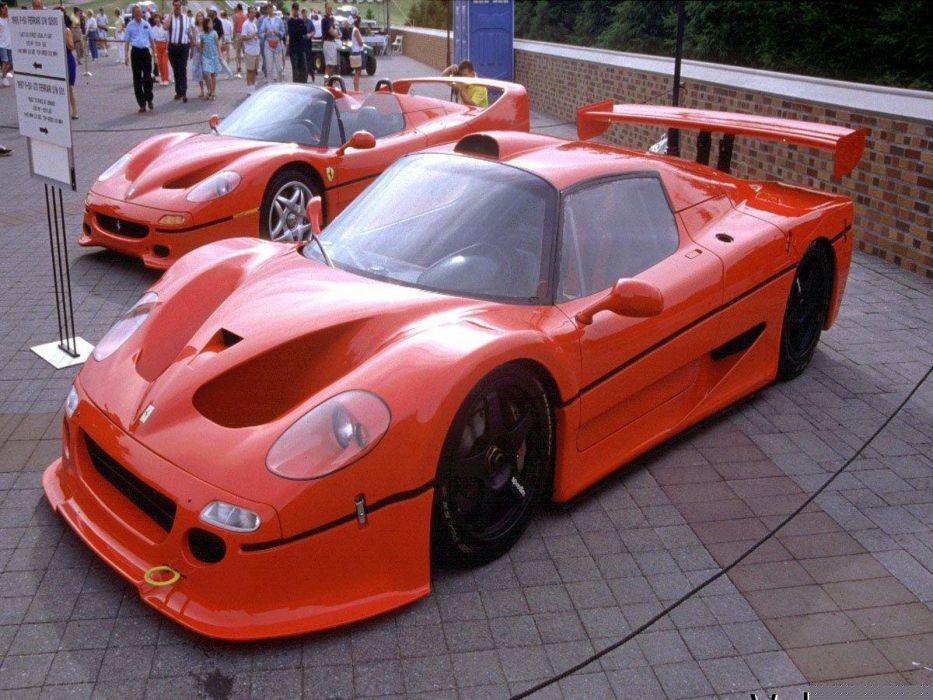 cars Ferrari vehicles supercars Ferrari F50 Ferrari F50 GT wallpaper