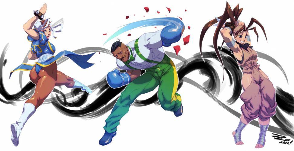 video games Street Fighter Ibuki Chun-Li Dudley wallpaper