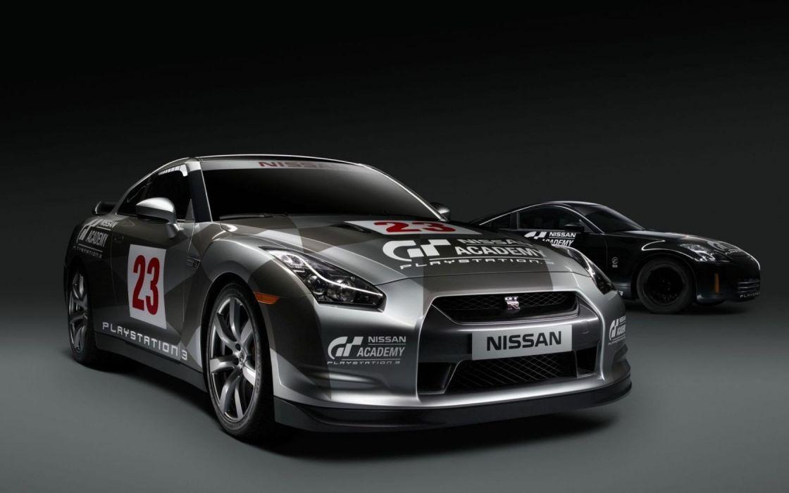 cars Nissan GT-R GTR wallpaper