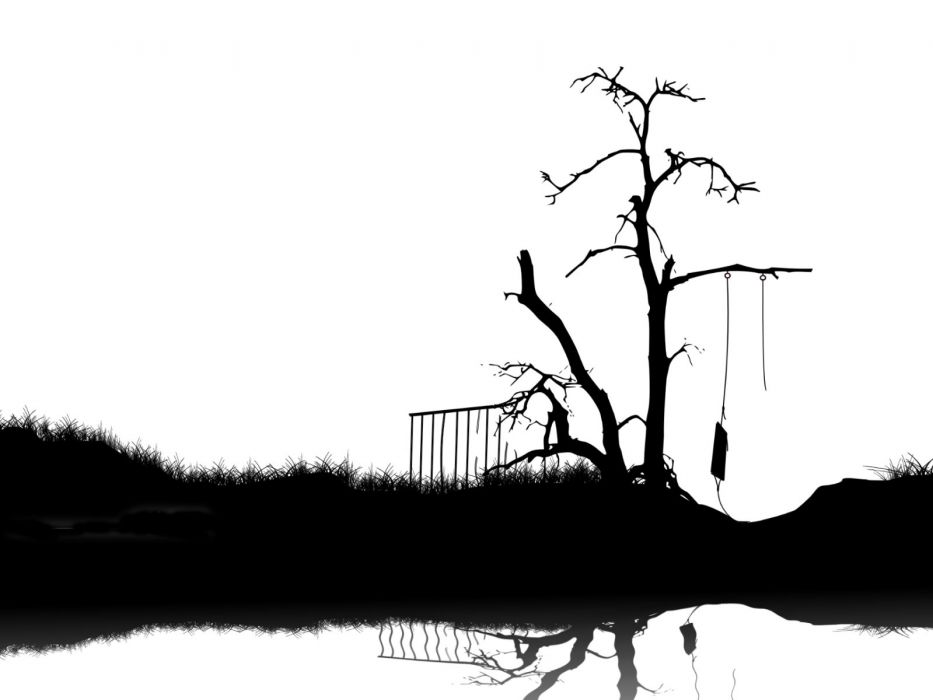 death trees artwork white background wallpaper