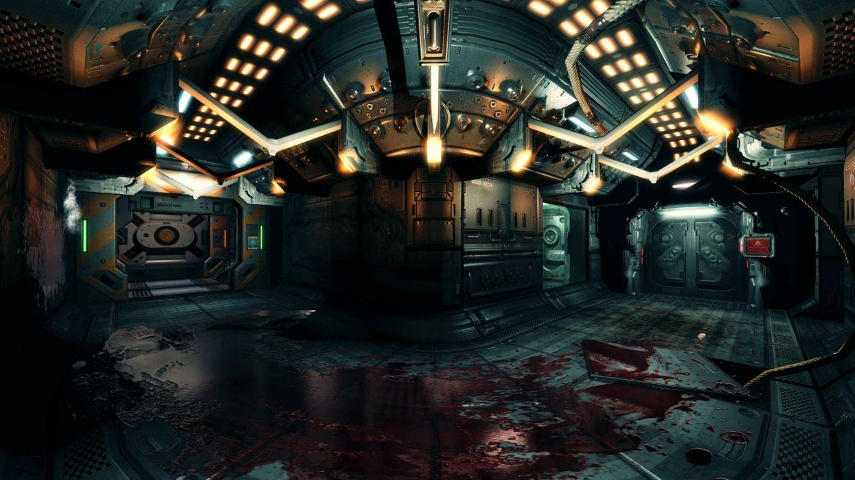 video games Doom 3 wallpaper