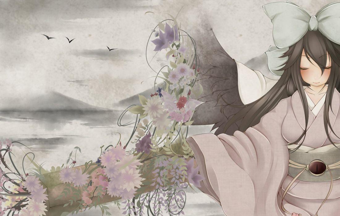 Touhou Reiuji Utsuho wallpaper