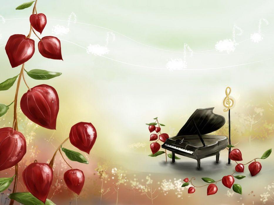 music piano wallpaper