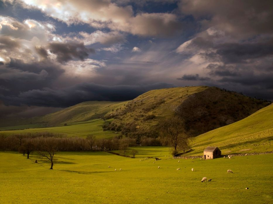 clouds landscapes skyscapes wallpaper